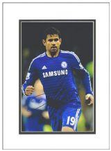 Diego Costa Autograph Photo Signed - Chelsea